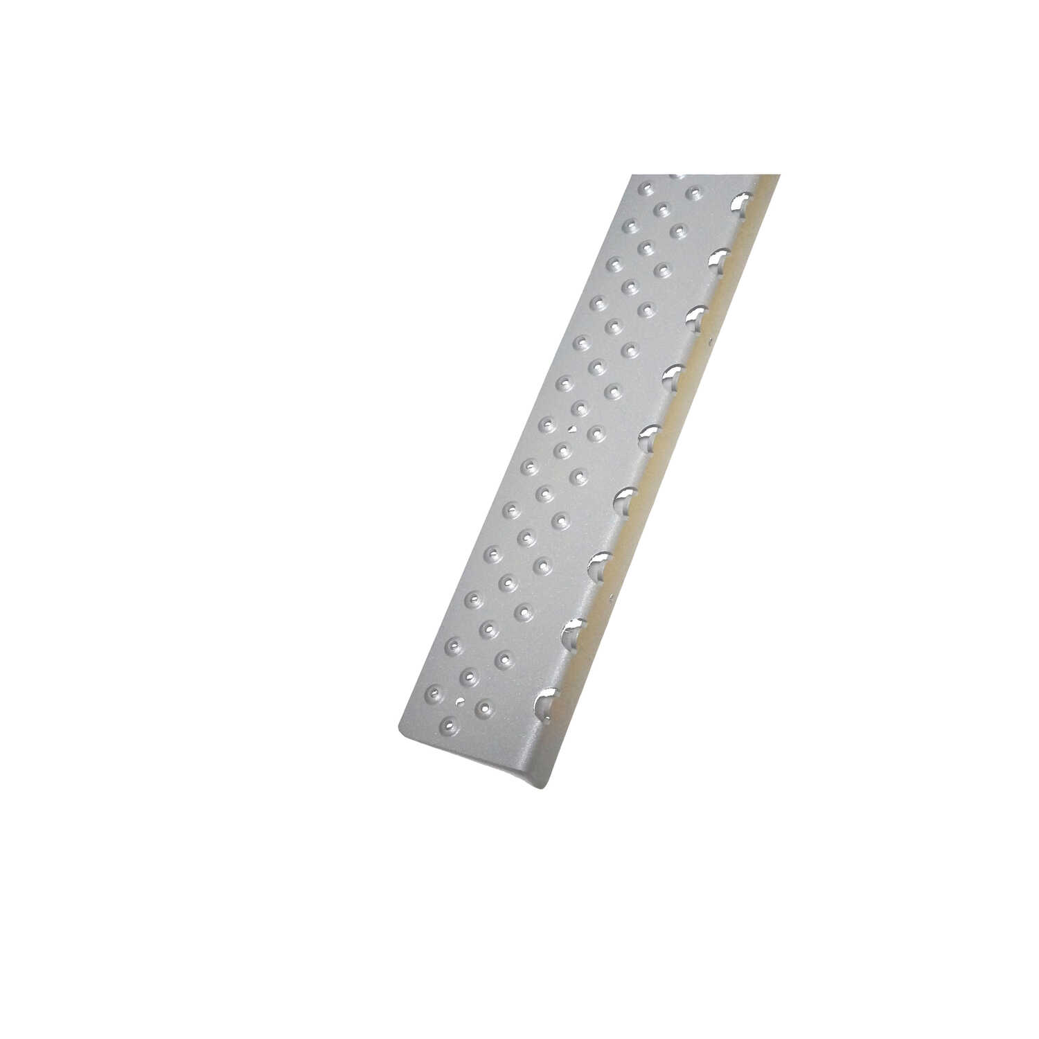 Stop The Slip  30 in. L x 4 in. W Powder Coated  Aluminum  Stair Tread