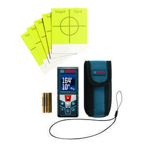 Bosch  BLAZE  4.2 in. L x 1.8 in. W Laser Measure  165 ft. Blue  3 pc.
