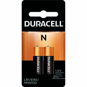 Duracell  Alkaline  N  1.5 volt Medical Battery  MN9100B2PK  2 pk
