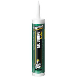 Titebond White Acrylic Siding and Window Sealant 10.1 oz.