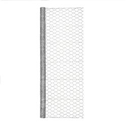 Garden Zone  72 in. H x 50 ft. L 20 Ga. Silver  Poultry Netting
