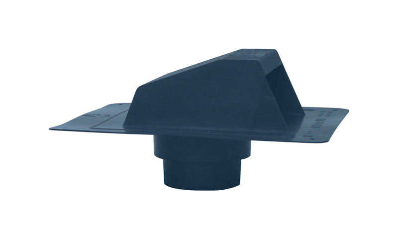 DeFlect-O  5 in. Dia. Plastic  Roof Cap With Grid