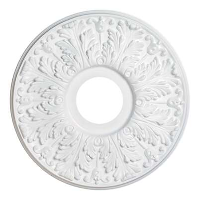 Westinghouse  15-1/2 in. Dia. White  Ceiling Medallion