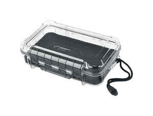 Ace  2-11/16 in. L x 6 in. W x 9 in. H Waterproof Case  Plastic  Clear