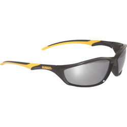 DeWalt  Router  Safety Glasses  Silver Lens Black/Yellow Frame 1 pc.