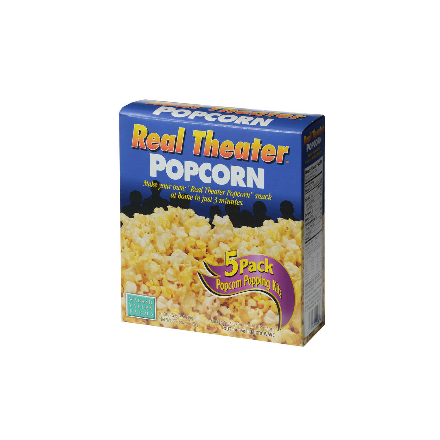 Whirley Pop  Real Theater  Movie Theater Butter  Popcorn  27.5oz.  Boxed