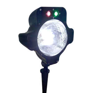 Night Stars  LED  LED Snowfall  Laser Light  White  1 lights