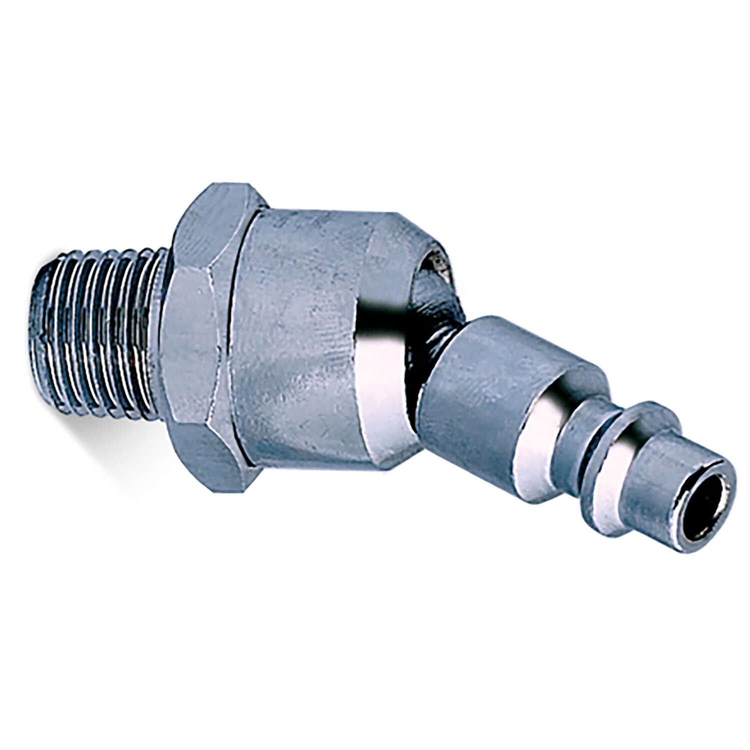 Senco  Industrial  Swivel Male Plug  1/4 in. MPT   x 1/4 in.  1 pc.