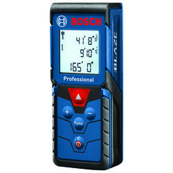 Bosch  Blaze Pro  4.125 in. L Laser Measure  165 ft. Blue  1 pc.