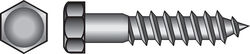 Hillman  1/4 in.  x 1-1/4 in. L Hex  Zinc-Plated  Steel  Lag Screw  100 pk