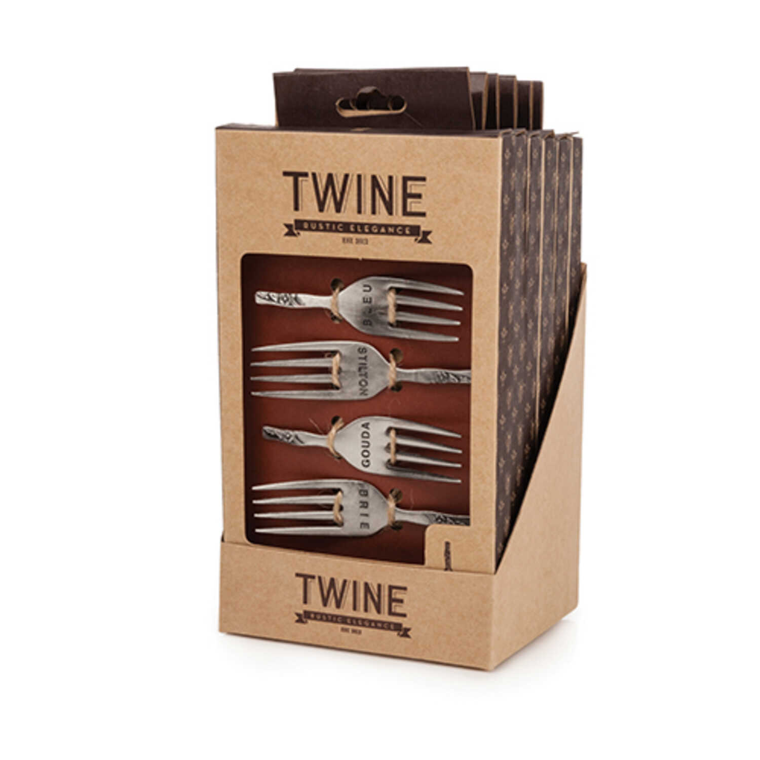 Twine  Silver  Cheese Markers