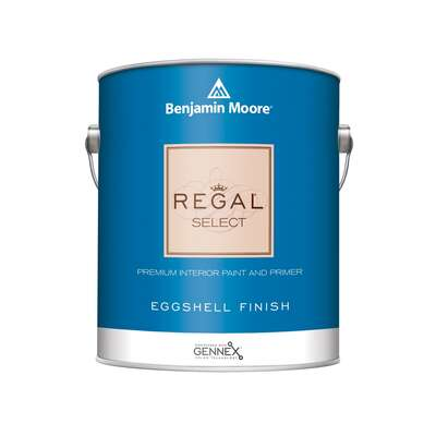Benjamin Moore  Regal  Eggshell  Base 1  Acrylic  Paint  Indoor  1 gal.