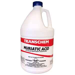 Transchem  Muriatic Acid  1 gal. Liquid