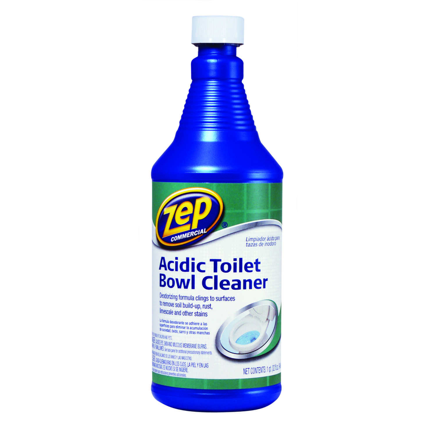 Zep Professional Strength Mint Scent Toilet Bowl Cleaner 32 oz. Gel ...