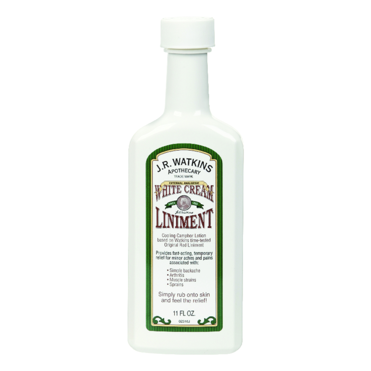 J.R. Watkins  White Cream Liniment  11 oz.