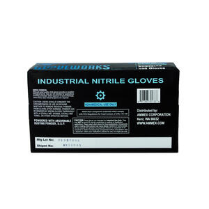 Gloveworks  Nitrile  Disposable Gloves  S  Blue  100 pk