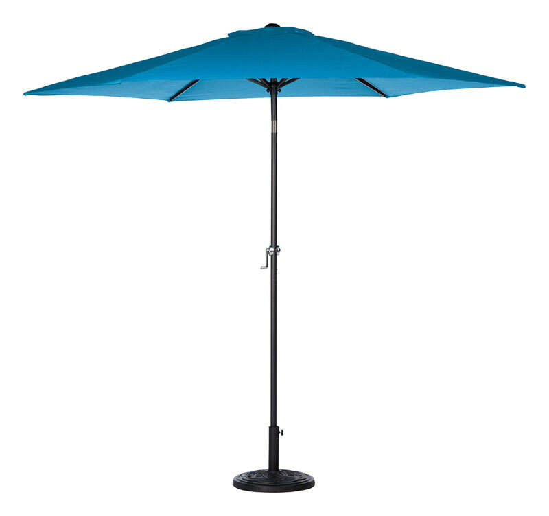 Living Accents  Brighton  Brighton  1 pc. Blue  Umbrella