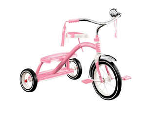 Radio Flyer  Girls  12 in. Dia. Tricycle  Pink