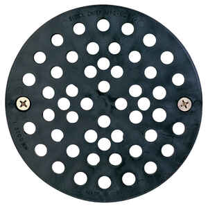 Sioux Chief  6-3/4 in. Polypropylene  Round  Floor Drain Replacement Strainer