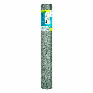 Garden Zone  48 in. H x 150 ft. L 20 Ga. Silver  Poultry Netting