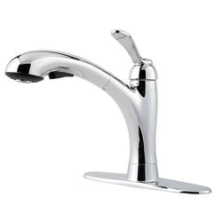 Pfister  Clairmont  One Handle  Polished Chrome  Pull Out Kitchen Faucet