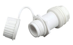 Igloo Cooler Drain Plug White 1 pk