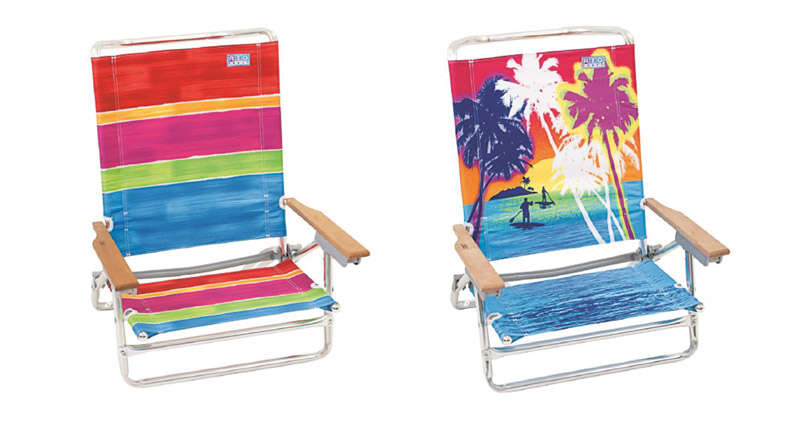 Rio Brands  5 Position  Beach Chair