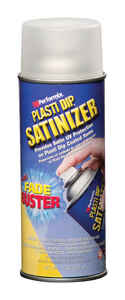 Plasti Dip  Satinizer  Satin  Clear  Multi-Purpose Rubber Coating  11 oz