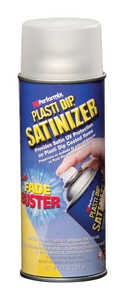 Plasti Dip  Satinizer  Satin  Multi-Purpose Rubber Coating  Clear  11 oz