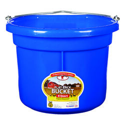 Little Giant  8 qt. Bucket  Blue