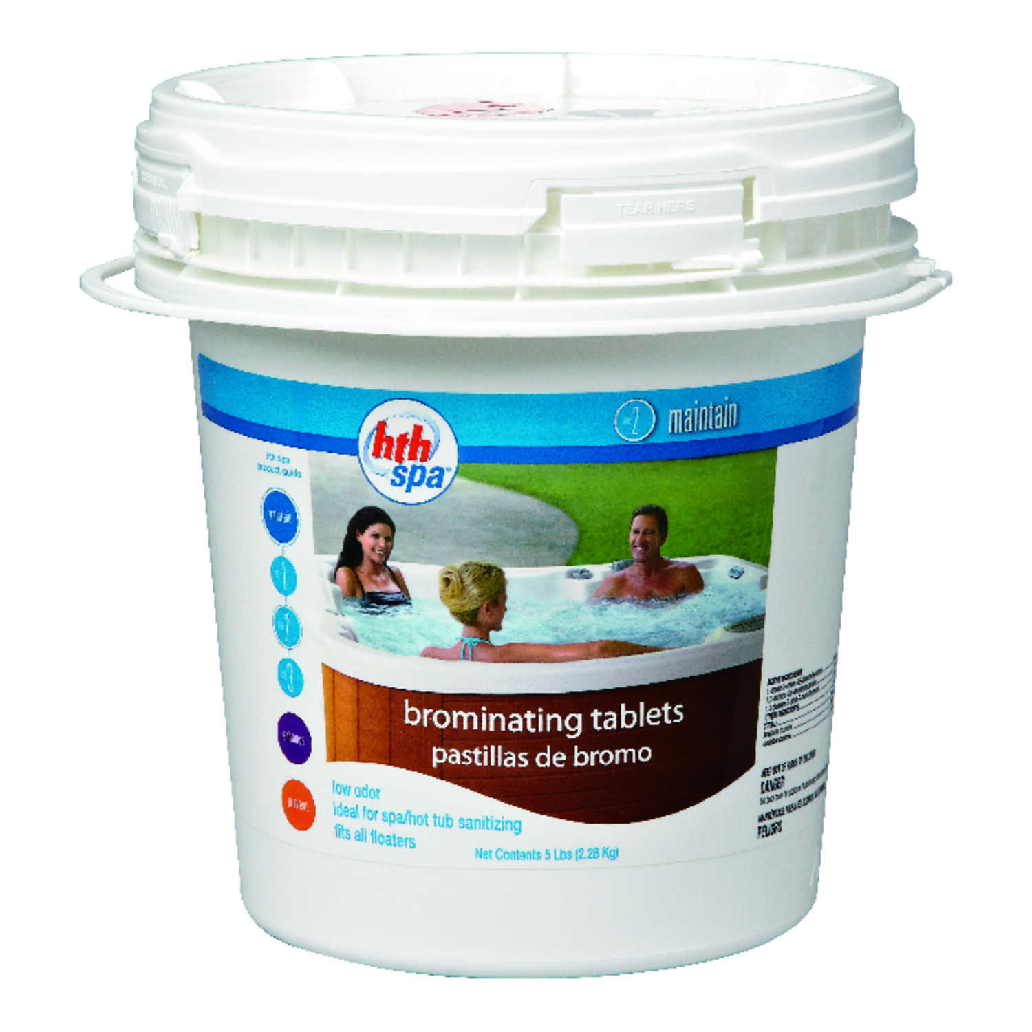 hth  Spa  Brominating Chemicals  5 lb.