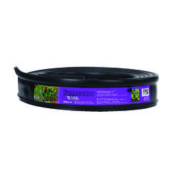 Master Mark  Master Gardener  20 ft. L x 3.5 in. H Plastic  Black  Lawn Edging