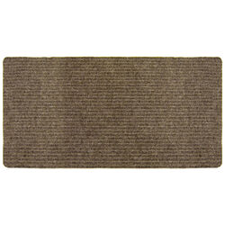 Multy Home 60 in. L x 24 in. W Tan Indoor Polyester/Vinyl Nonslip Utility Mat