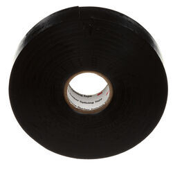 Scotch  3/4 in. W x 30 ft. L Black  Vinyl  Splicing Tape