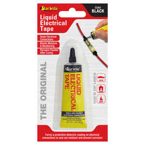Star Brite  4 in. W x 7 in. L Black  Liquid Electrical Tape