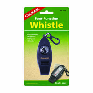 Coghlan's  Black  Whistle  6.875 in. H x 4.00 in. W x 0.75 in. L 1 pk
