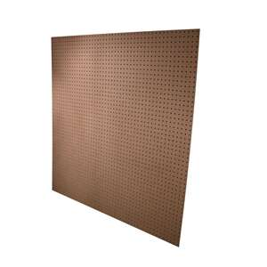 American Wood Moulding  4 ft. W x 3/16 in.  x 4 ft. L Medium Fiber Board (MDF)  Peg Board