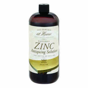 Amy Howard at Home  For Metal Surfaces  Zinc  Antiquing Solution  32 oz.