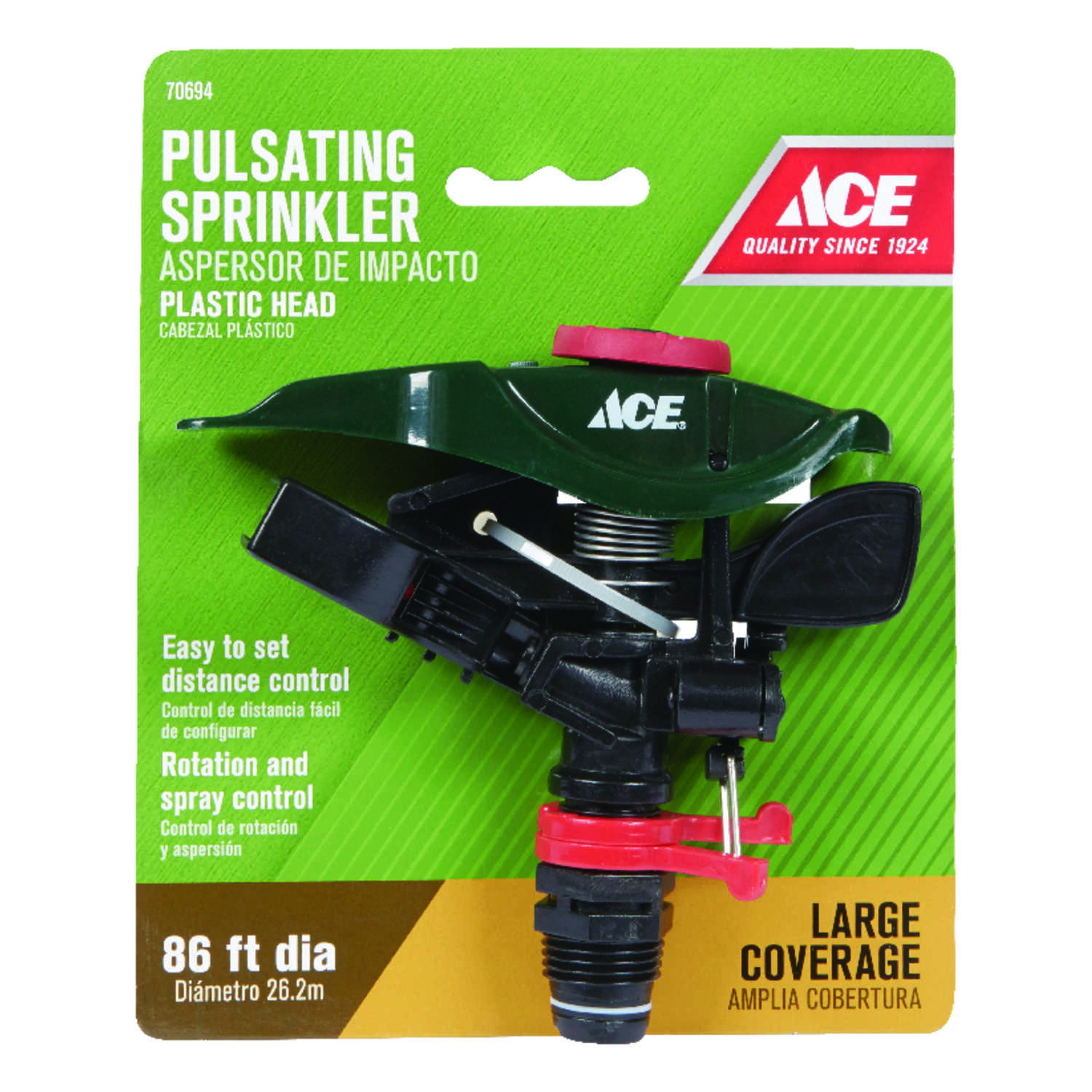 Ace  Plastic  Sled Base  Impulse Sprinkler