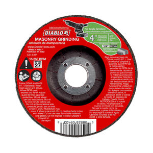 Diablo  4 in. Dia. x 5/8 in.   Aluminum Oxide  Masonry Cut-Off Disc  1 pc.