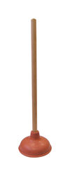 Cobra  Plunger with Wooden Handle  18 in. L x 5 in. Dia.