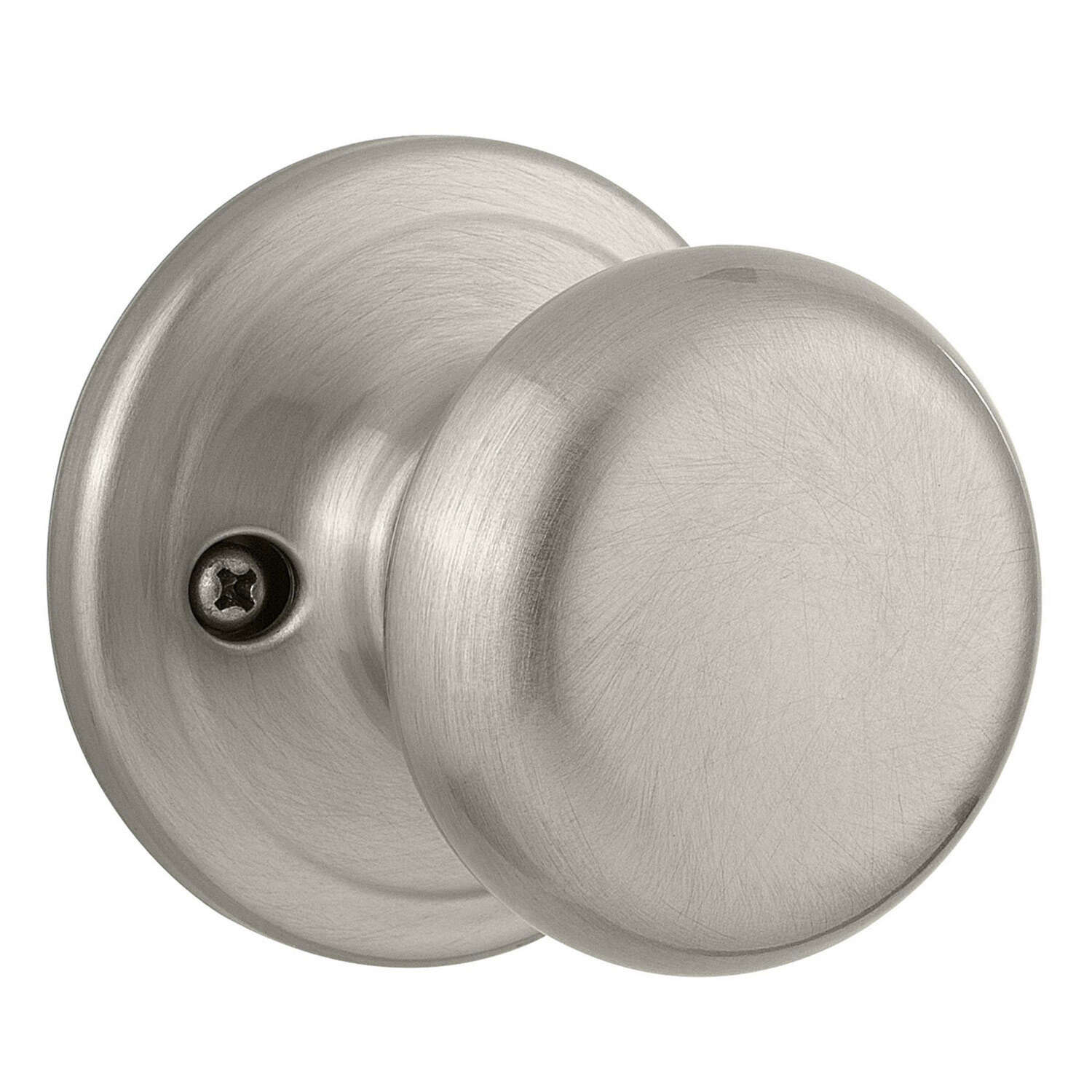 Kwikset  Juno  Satin Nickel  Steel  Dummy Knob  2 Grade Right or Left Handed
