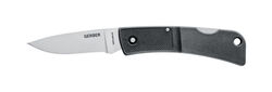 Gerber  LST Series  Black  420 HC Stainless Steel  6.1 in. Folding Knife