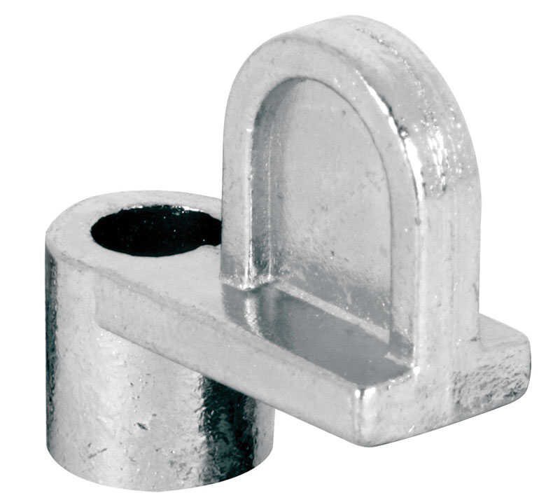 Prime-Line  Mill  Die Cast  Screen Clip  For 1/3 12 pk Silver