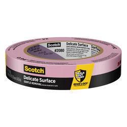 3M  Scotch  0.94 in. W x 60 yd. L Purple  Medium Strength  Painter's Tape  1 pk