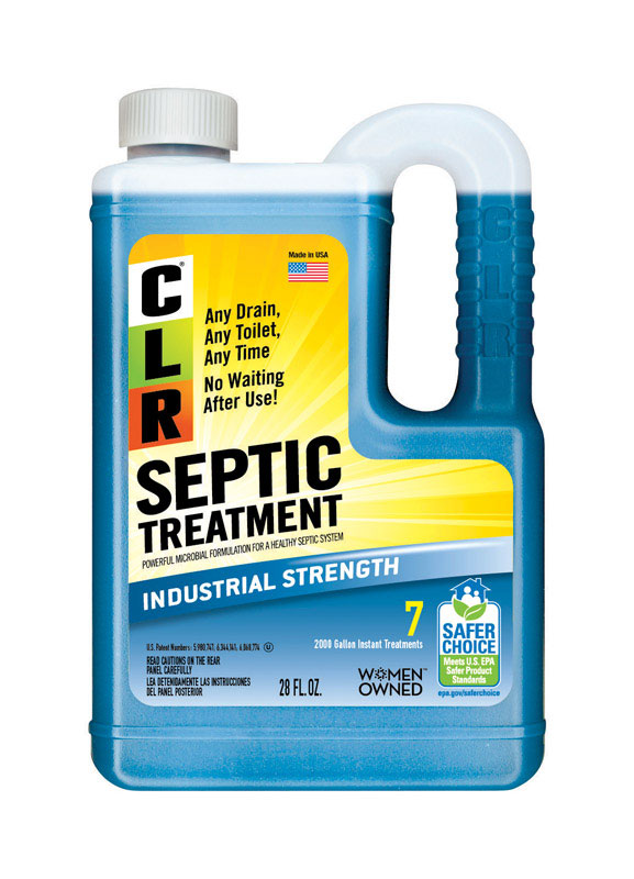 CLR  Septic Treatment  Liquid  Septic Treatment  28 ounce