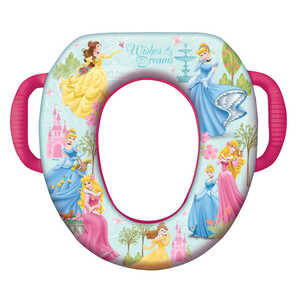 Ginsey  Disney Princess  Round  Soft  Child's Toilet Seat
