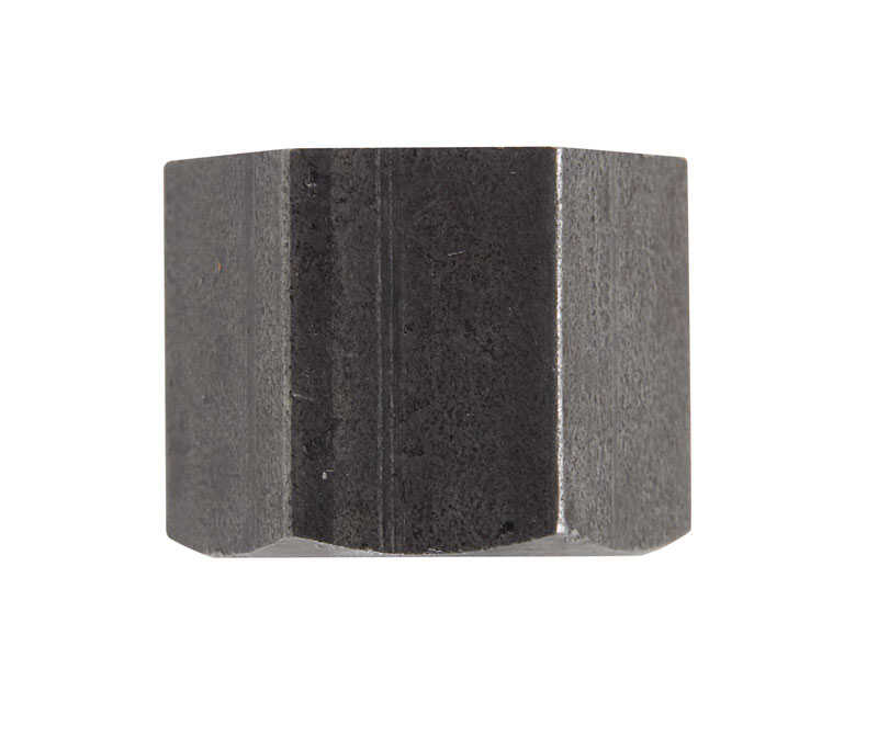 Billco  3/8 in. FPT  Black  Steel  Hex Pipe Cap