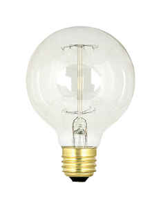 FEIT Electric  The Original  60 watts G25  Vintage  Incandescent Bulb  E26 (Medium)  Soft White  1 p