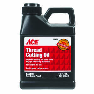 Ace  16 oz. For Aluminum and Other Metals Thread Cutting Oil